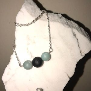 Jewelry - Handmade Essential Oil Lava Bead Diffuser Necklace